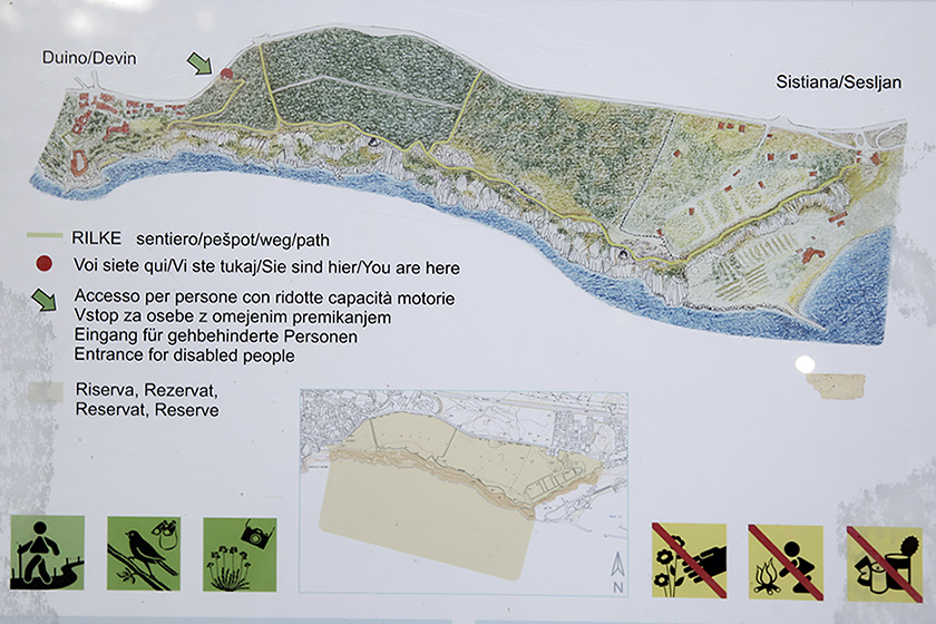 Sentiero Rilke - Falesie di Duino